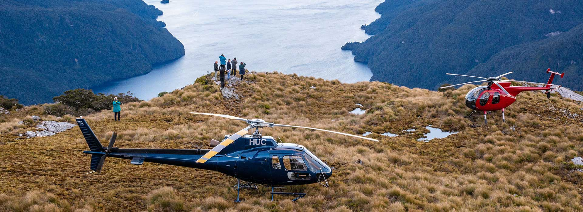 About Fiordland Helicopters